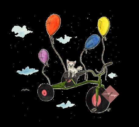 chihuahua-fliegt-auf-dreirad