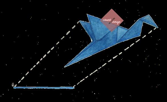 origami-kranich-fliegt