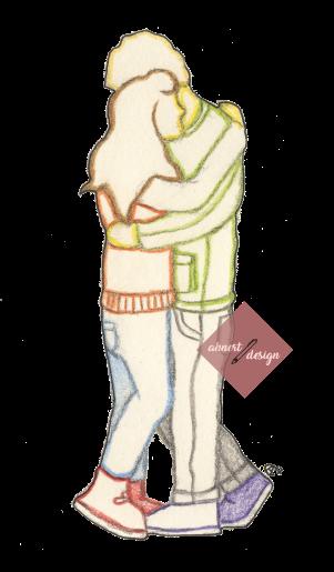 umarmung-eines-paares