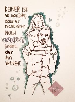 Doodle Paar