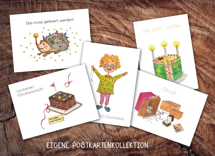 Eigene Postkartenkollektion