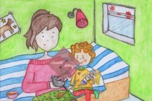 Kapitel 2 Illustration Miss Piepsi