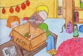 Kapitel 3 Illustration Miss Piepsi